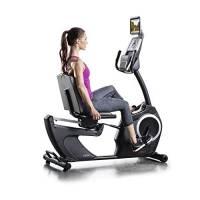 ProForm 325CSX Cyclette Semi-Allungata, Unisex, per Adulti, Nero/Grigio