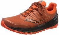 Saucony Xodus ISO 3, Scarpe Running Uomo, Arancione (Orange/Black 36), 42.5 EU
