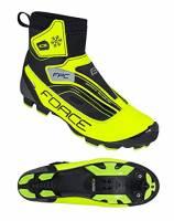 Force Scarpe Ciclismo MTB Invernali Ice Winter SPD - Giallo Fluo (39 EU)