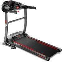 FITFIU Fitness MC-200 - Tapis roulant magnetico pieghevole con display LCD e cardiofrequenzimetro, Macchina da fitness silenziosa con motore da 1500w fino a 14km/h con sistema di arresto di emergenza