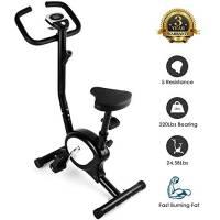 EVOLAND AGM Fitness F-Bike, Cyclette Fitness, Home Trainer, Bici d'Allenamento per la Casa, Cyclette da Training Aerobico, Fitness, Palestra, Sport e Tempo Libero, Sostiene Fino a 100 kg