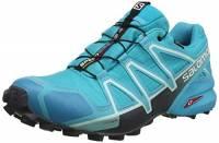 Salomon SPEEDCROSS 4 GTX W Scarpe da Trail Running, Donna, Blu (Bluebird/Icy Morn/Ebony), 38 EU