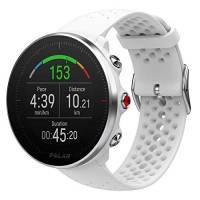 Polar Vantage M, Sportwatch per Allenamenti Multisport, Corsa e Nuoto, Impermeabile con GPS e Cardiofrequenzimetro Integrato, Unisex – Adulto, Bianco, M/L