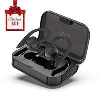 Arbily Cuffie Bluetooth Sport Auricolari Bluetooth Senza Fili Cuffiette in Ear Auricolare con Profilo Audio Premium, Separabili/Accoppiamento Automatico/Impermeabile IPX7/60 Ore di Ascolto