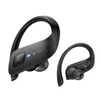 【2020 Ultimo Modello】Axloie Cuffie Bluetooth Sport Auricolari Bluetooth 5.0 Senza Fili IPX7 Impermeabili 35H Riproduzione per Correre, Andare in Bicicletta Nero