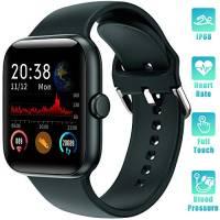 LIFEBEE Smartwatch Orologio Fitness Tracker Uomo Donna con TouchScreen Completo Impermeabile IP68 Smart Watches Pressione Sanguigna Monitor Cardiofrequenzimetro da Polso Contapassi per Android iOS