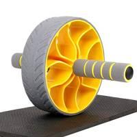 XGEAR Ab Roller, Attrezzo Fitness Maneggevole e Trainer per Muscoli Addominali con Supporto per Le Ginocchia, Ruota per Addominaliper Esercizi degli Addominali, Fitness, Crunch, Allenamento, Unisex