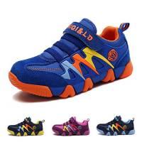 Ragazzo Ragazza Scarpe da Ginnastica Running Sportive Basse Bambini Respirabile Scarpe Tennis Sneakers all'aperto Unisex-bambin Blu 32 EU = Produttore :33