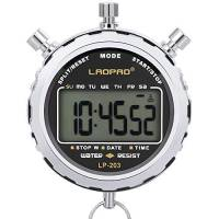 LAOPAO Melt Cronometro, Display Digitale 1/100 Secondi Precision Outdoor Elettronico Digitale cronografo Timer per Basket Calcio Baseball Sport Outdoor