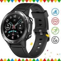 UMIDIGI Uwatch GT Smartwatch Orologio Fitness Uomo Donna Impermeabile 5ATM Smart Watch Cardiofrequenzimetro da Polso Contapassi Smartband Activity Tracker Bambini Cronometro per Android iOS- Nero