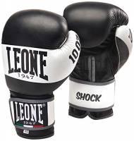 Leone 1947- GN047, Shock Guantoni, Nero/bianco, 10 Oz