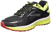 Brooks Adrenaline Gts 16 M Scarpe da corsa, Uomo, Multicolore (Black/Nightlife/High Risk Red), 42