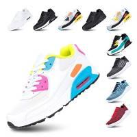 Scarpe Running Uomo Donna Ginnastica Sneaker Leggere Traspirante Outdoor Sportive Calzature da Corsa Pallavolo Tennis Rosa 38