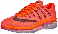 Nike Wmns Air Max 2016 Scarpe da ginnastica, Donna, Arancione (Hyper Orange / Black-sunset Glow), EU 37.5 (US 6.5)