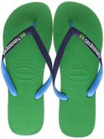 Havaianas Brasil Mix, Infradito Unisex Adulto, Verde (Leaf Green), 43/44