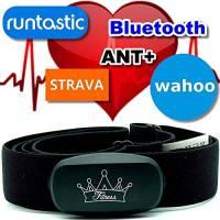 Heartbeat Bluetooth & ANT+ per Garmin Wahoo Polar RUNTASTIC STRAVA ENDOMONDO TomTom Apple iPhone Android Chest Strap Frequenza cardiaca Monitor HRM Sensore