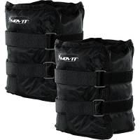 Movit Twin Set di Pesi da Polso o di Caviglia, Armatura, Polsini in Peso da Nero Colori/Pesi: 2X 3,0kg