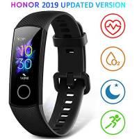 HONOR Band 5 Smartwatch Orologio Fitness Tracker Uomo Donna Smart Watch Cardiofrequenzimetro da Polso Contapassi Smartband Sportivo Activity Tracker,Nero