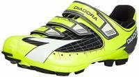 Diadora X TRIVEX, Scarpe da ciclismo donna, Giallo (Gelb (schwarz/gelb fluo/weiß 3444)), EU 43