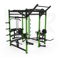 We R Sports® Power Rack Gym Crossfit Power Cage Pull ups Ab Bench Chin Up Triceps
