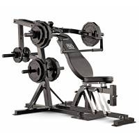 Marcy Compact Gym PM4400, Panca bilanciere, posizione regolabile e rimovibile