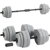 Hardcastle - Set bilanciere regolabile - argento - 30kg