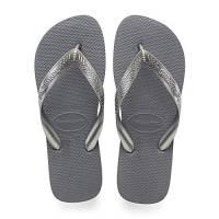Havaianas Top Tiras, Infradito Donna, Argento (Steel Grey), 39/40 EU
