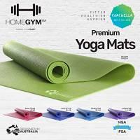 Tappetino per fitness, allenamento, yoga e tappetino per esercizi – un grande e ampio tappetino per esercizi per esercizi di forza, allenamento a casa, palestra o per mantenere la posizione perfetta.