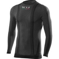 SIX2 T-Shirt ml Black Carbon-XL Unisex Adulto