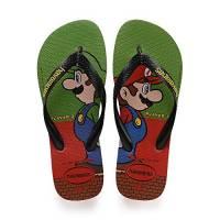Havaianas Mario Bros, Infradito Unisex Adulto, (Strawberry 2162), 45/46 EU