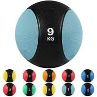 arteesol Medicine Balls, 1, 2, 3, 4, 5, 6, 7, 8, 9, 10 kg Deadweight Balls Grip Perfetto per Allenamento di Forza e condizionamento, Cardio e Core