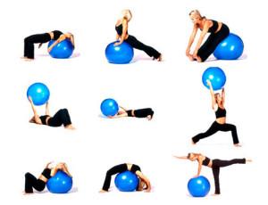 fitball esercizi