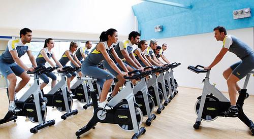 spin bike allenamento