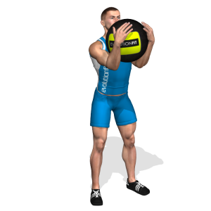 QUADRICIPITI GOBLET SQUAT WALLBALL AG