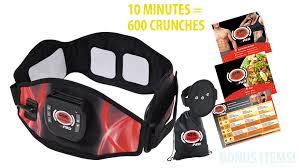BEST DIRECT Gymform Abs-a-Round ABS Elettrostimolatore Muscolare EMS Muscolo Addominale Addominali Attrezzi ABS Addome/Braccio/Gambe/Fianchi/Glutei Massaggi-Attrezzi