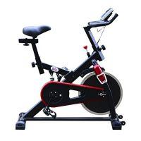 Homcom Cyclette Professionale per Allenamento Aerobico, Nero 103 x 45 x 103 cm