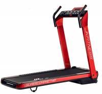 JK Fitness Tapis Roulant Supercompact 48, Unisex Adulto, Rosso, Unica, 146 x 75 x 123 cm aperto - 74 x 26 x 145 cm chiuso