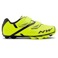 Northwave Scarpe Ciclismo MTB XC Uomo Spike 2 Giallo Fluo/Nero - Numero 44