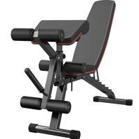 GXYNB Panca Pesi Regolabile Home Palestra Allenamento Fitness Set con Rack Leg Extension Leg Curl Pieghevoli Heavy Duty Addominali Trainers