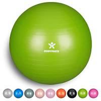 BODYMATE Palla da Ginnastica/Fitness Palla da Yoga per Allenamento Yoga & Pilates Core Compresa Pompa - Disponibile nelle Dimensioni da 55, 65, 75, 85 cm