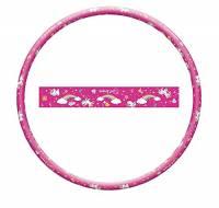 Mondo Toys-Hula Hoop Unicorno-Attrezzi per Ginnastica Bambino-Cerchio da 80 cm diametro-28587, Colore Rosa, 28587