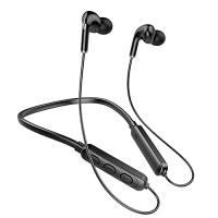 Cuffie Bluetooth Sport Auricolari In-Ear Bluetooth Bassi Potenti, IPX7 Impermeabili, Alta Qualità del Suono, Correre Fitness per iphone, Android(Nero)