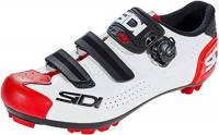 SIDI, Scarpe da ginnastica Unisex-Adulto, White Black Red, 43 EU