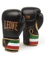 Leone 1947 GN039, Guantoni Boxe Unisex – Adulto, Nero, 10 Oz