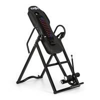 Klarfit Ease Delux - Panca ad Inversione Gravitazionale, per Massaggi alla Schiena con Funzione riscaldante, Inclinazione Regolabile a 20, 40 e 60°, Max 136 kg, per Altezza da 1,54 a 1,98m