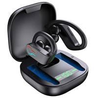 Cuffie Bluetooth 5.1 Bassi Potenziati, Auricolari Sport Senza Fili IP7 Impermeabili, In Ear Cuffie Auricolari Wireless Running con HD Microfono, 40 Ore di Riproduzione per Correre, Nero