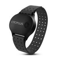 CYCPLUS Cardiofrequenzimetro ANT+ Bluetooth Modello Successivo Sensore di Frequenza Cardiaca Bici Orologio da Polso Impermeabile con Fascia da Braccio per Palestra, Ciclismo, Corsa, Attività Sportive