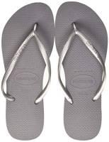 Havaianas Slim 4000030 Infradito Donna, Grigio (Steel Grey), 37/38 EU