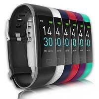 Smartwatch Fitness Activity Tracker GPS Uomo Donna Saturimetro Pressione Sanguigna Cardiofrequenzimetro Orologio Contapassi IP68 Sveglia Bluetooth Touch Conta Calorie monitor del sonno Adroid iOS Win