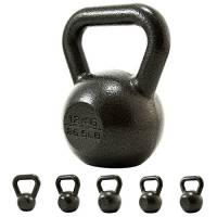 PROIRON Kettlebell ghisa Peso 12kg per Palestra Domestica Esercizi Fitness addestramento, potenziamento Muscolare (12kg)